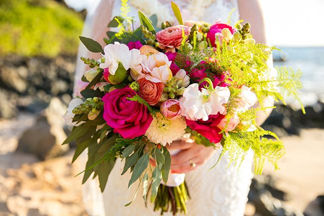 Wedding Flowers By Precious Maui Weddings